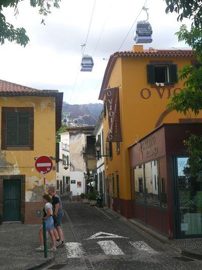 Madeira Street Town Cablecar
