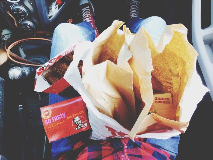 KFC Fastfood Hungry!