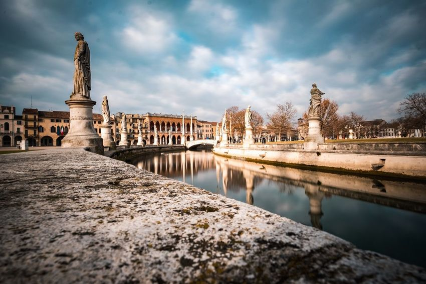 In the silence Longexposure Longexposurephotography Longexposureoftheday Travel Destinations Traveling Travel Photography Lines Architecture_collection Architecturelovers Building Exterior Landscape_Collection Landscape Photography Reflection_collection Itlay Padova Pratodellavalle Padua EyeEm Selects Water Cityscape City Reflection Sky Architecture Cloud - Sky Landscape Historic Ancient Civilization Panoramic Ancient History