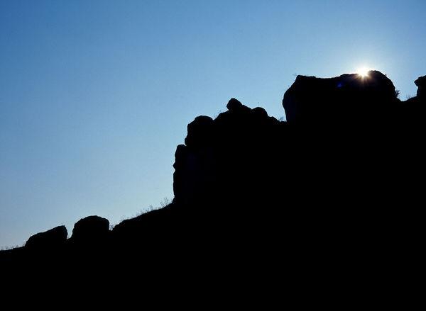 Border Eclipse Edge End Jura Jura Krakowsko Czestochowska Jura Olsztyn Limestone Limestone Rocks Mountain Mountains Outdoors Ridge Rock Rock - Object Rock Formation Rocks Rocky Mountains Silhouette Sky Sun
