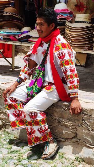 Indian Indian Culture  Native Huichol Real De Catorce