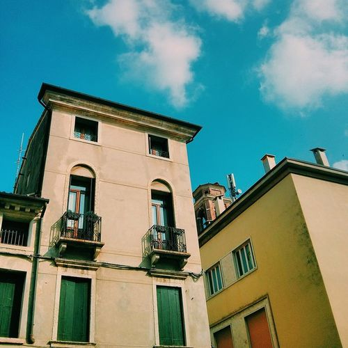 Have a nice day! Vscocam Afternoon Italia Bassano europe sky cloud picoftheday fall autumn