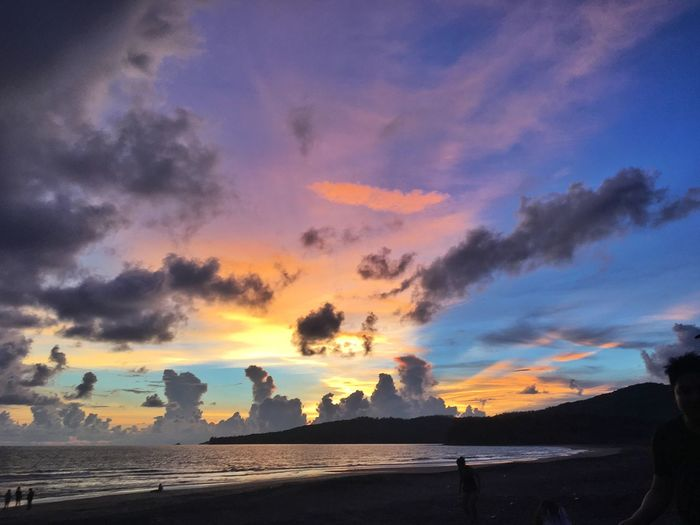 6:34pm Eyeem Philippines Colors Of The Sky Colors Sunset_collection Sunset Sunset At The Beach Color Of Life