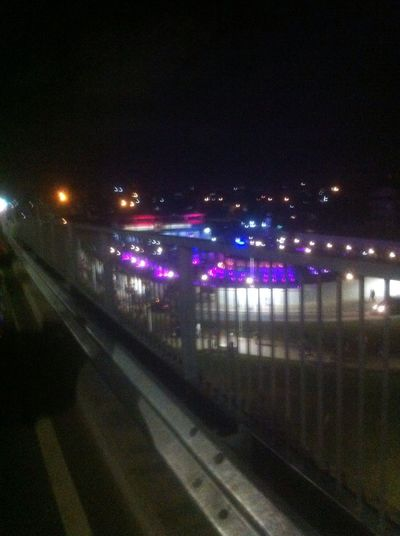 The iconic Kwame Nkrumah Interchange water park and light show, First Eyeem Photo