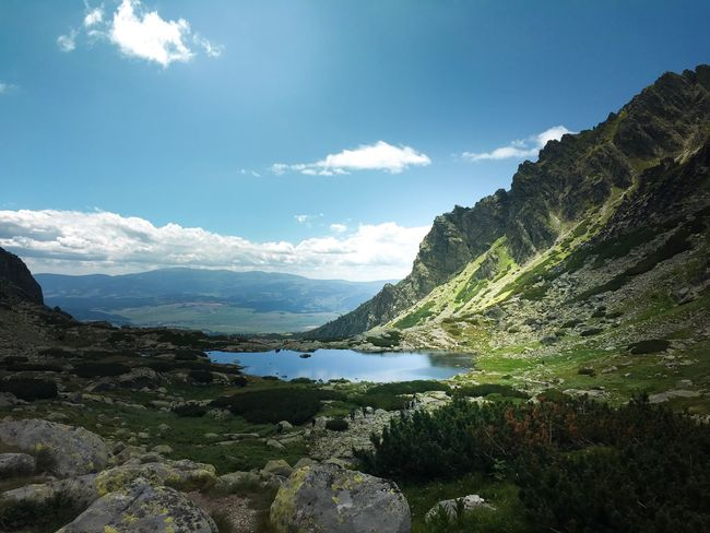 Slovakia Travel Photography Mountain Range Tranquility Leisure Activity Outdoors Beauty In Nature Scenics Slovakia🇸🇰 Hiking Strbske Pleso Lake Mountain Lake