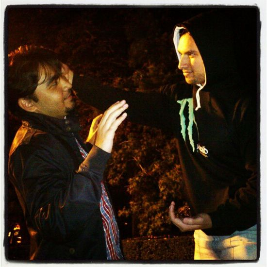 My Friends Acting and Goofing Around at elRetiro el retiro park madrid spain