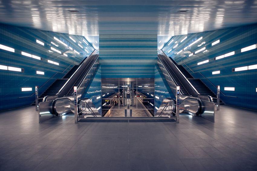Hamburg Überseequartier Hafencity Architecture Taking Photos Symmetry Photography Walking Around Subway Station