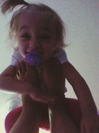 Babysiting this angel ? Babysitting