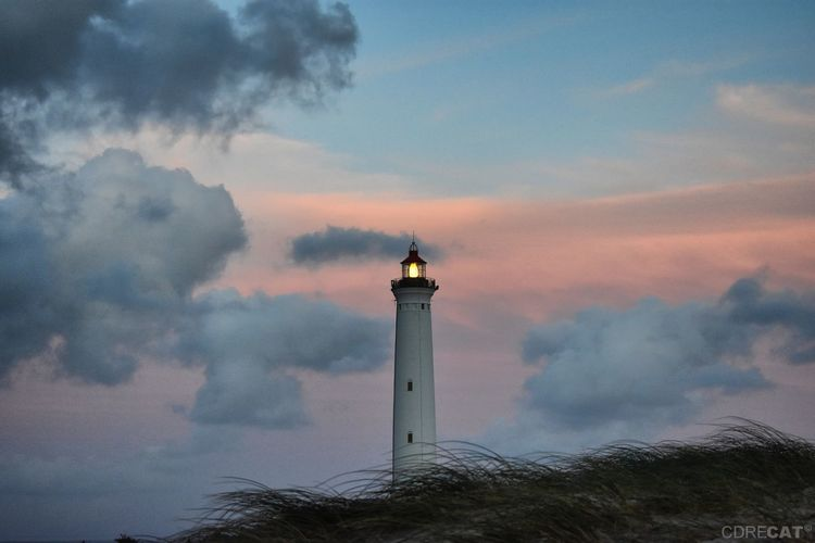 Denmark Denmark 🇩🇰 Landscape Landscape_Collection Northsea Nature Nature_collection EyeEm Masterclass EyeEm Nature Lover Hvide Sande Leuchtturm Sunset Time Landscape Landscape_Collection Lighthouse Sunset Tall - High