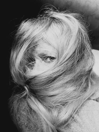 Not disturb Woman Portrait Womans Head Long Hair Eye Tired Woman Black And White Indoors  Day Close-up EyeEm Ready   Press For Progress Inner Power This Is My Skin The Portraitist - 2018 EyeEm Awards