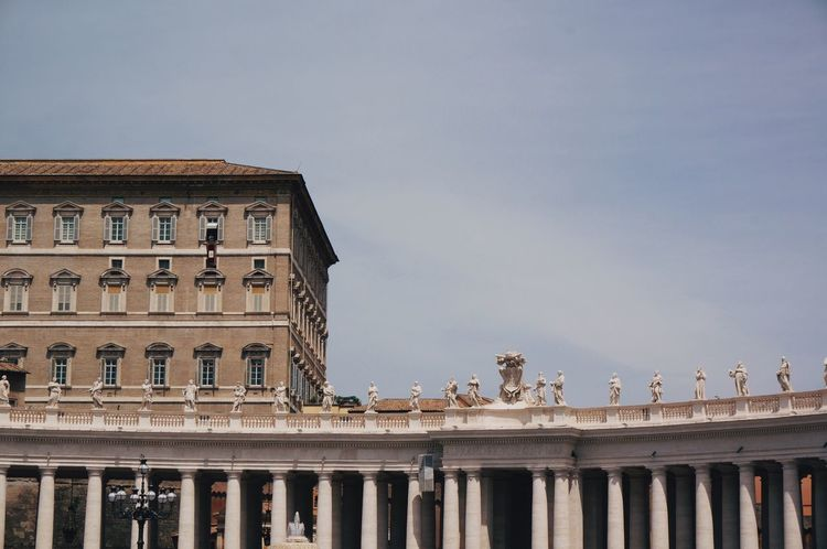 Architecture Rome Italy Building Sky Travel City Vatican City Vatican Summer Buildings