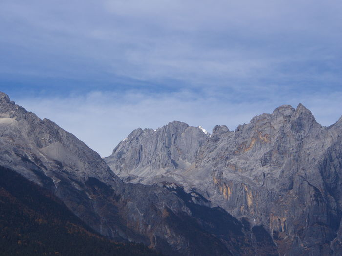 Jade dragon mountain, lijiang, china