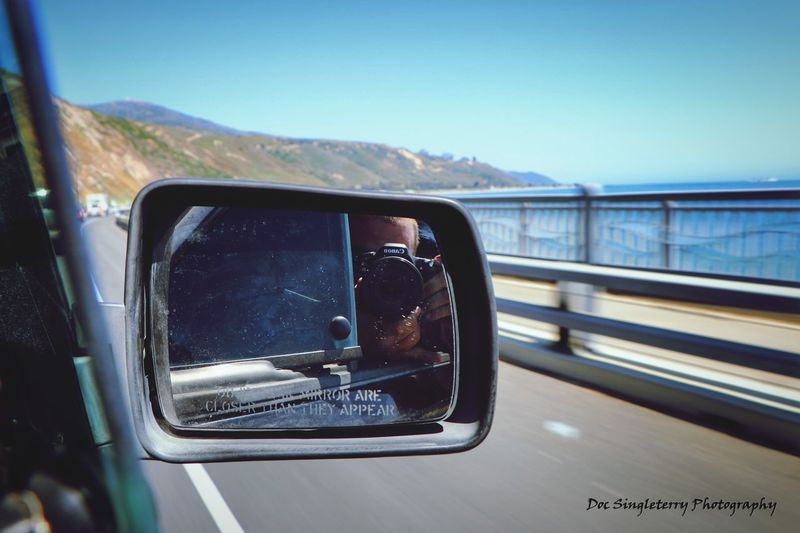 California Coastal Selfie Photographing ThatsMe Selfies Californialove Photographer West Coast California Roadtrip Mirrorselfie Transportation Riding Shotgun Landscape Coastline Coastal California Outdoors Ocean Highway 101 Perspectives Let's Go. Together.