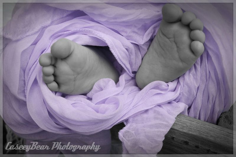 Little Toes A Little Touch Of Color Babygirl So Cute<3 Annabella  Gorgeous Girl