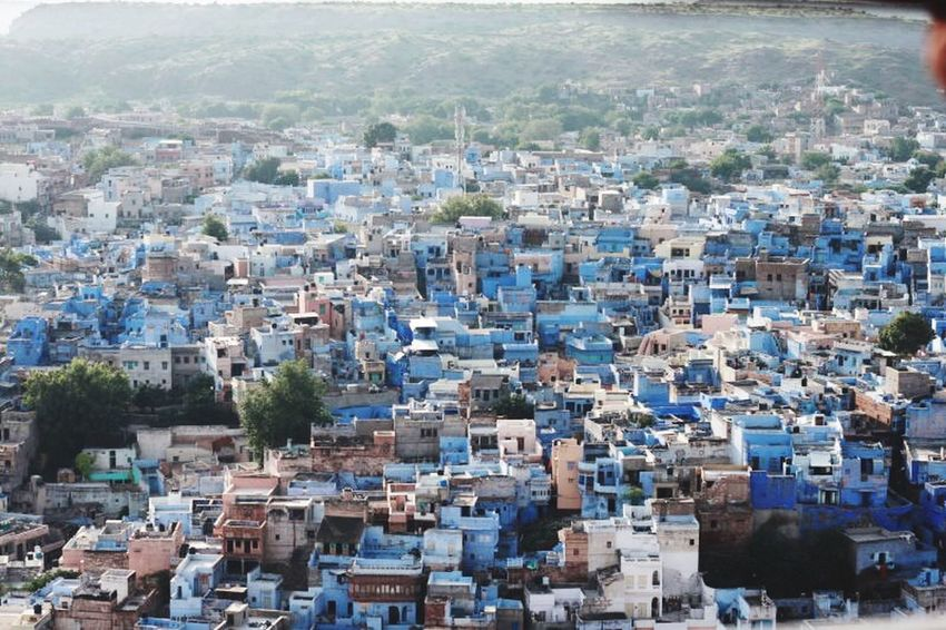 India Jodhpur Bluecity Southasia Rajasthan Blue Sunrise Sun_collection Sunrise_sunsets_aroundworld Sunrise_Collection