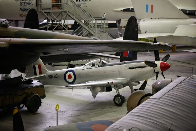 Duxford Imperial War Museum Aerial Aerospace Industry Air Vehicle Aircraft Wing Airplane Airport Airport Runway Combat Plane# Commercial Airplane Concorde Concorde Plane Day Duxford Imperial War Museum F22 Raptor Indoors  Jet Engine Mig21 Mode Of Transport Plane Museum Planes Runway Stealth Transportation Transportation Travel