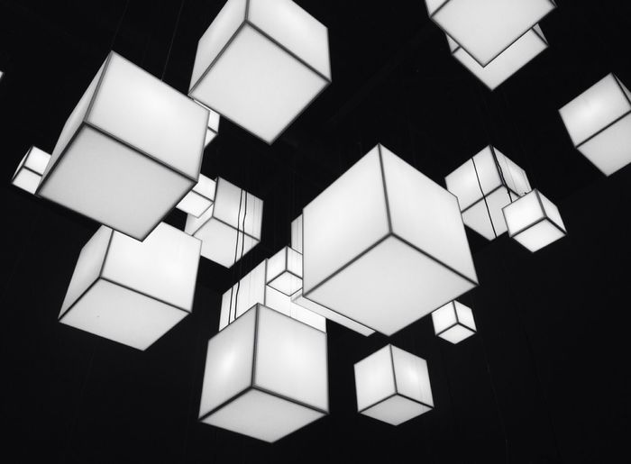 Bw Photography Magic Cube Minimalism Precision