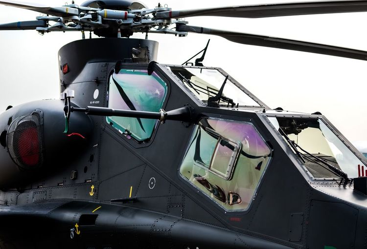 AH10 Helicopter Cockpit Aerospace Industry Transportation Air Vehicle Control Panel Military No People Pilot Outdoors Air Force Fighter Plane Day Piloting