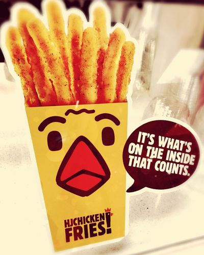 They speak for themseleves Hungryjack Chickenfried