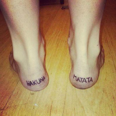 @tatted @steph_demelo Hakuna Matata