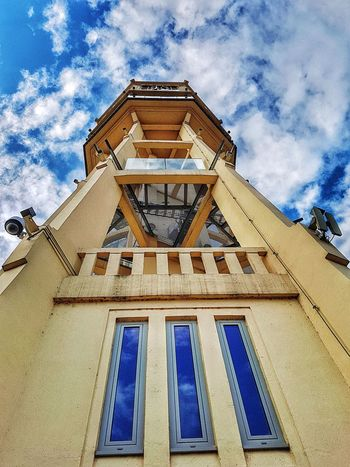 Architecture Cloud - Sky Built Structure Tower Watertower Highsaturation Colorful EyeEmNewHere