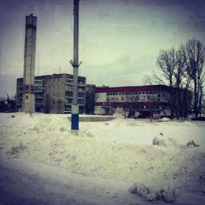 зима памятник Winter петровск petrovsk @markinprolife