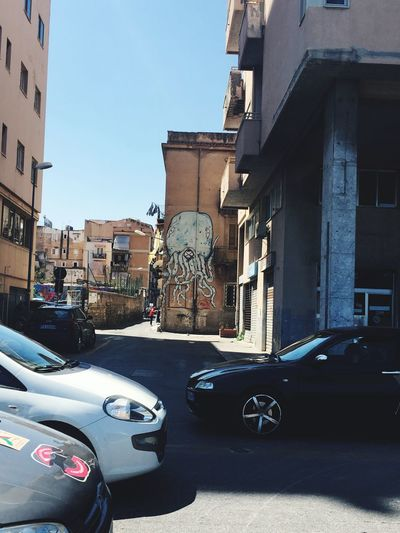 Art Is Everywhere Car Built Structure Land Vehicle Building Exterior Transportation Architecture Mode Of Transport Day Road No People Sunlight Outdoors Statue Sculpture City Sky
