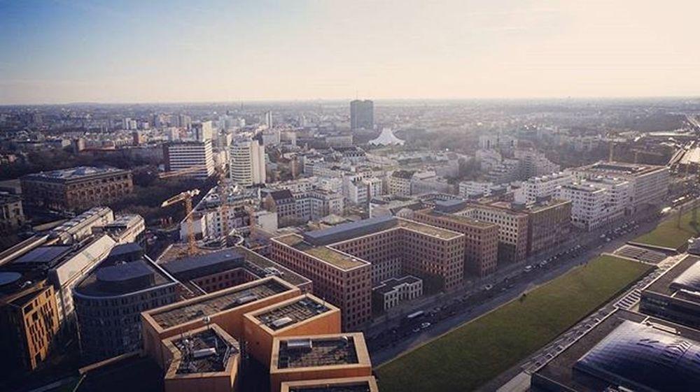 Wunderschöner Panoramablick über Berlin Panoramapunktberlin Sonyalpha5000 Wonderful Happy NiceWeek