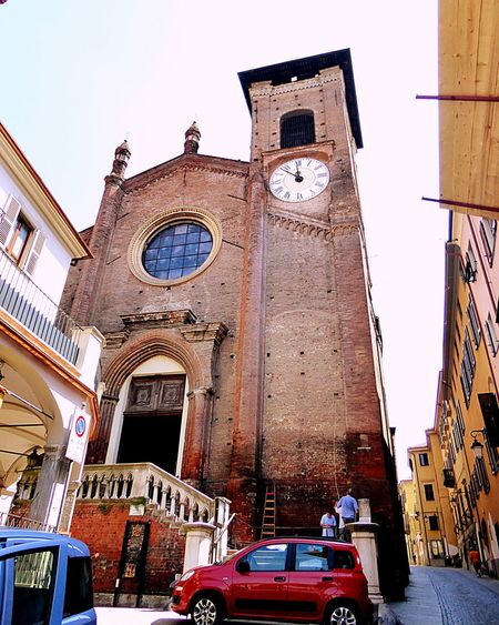 Italy🇮🇹 Moncalieri Church Tower Church Clock Tower Peolpe People Watching People Together People On The Way To Mass Details Of My Life Street Photography Fine Art Fine Art Photography Architecture Old Buildings Old But Awesome Taking You On My Journey 😎 Architectural Detail Detail On The Way Colour Of Life,