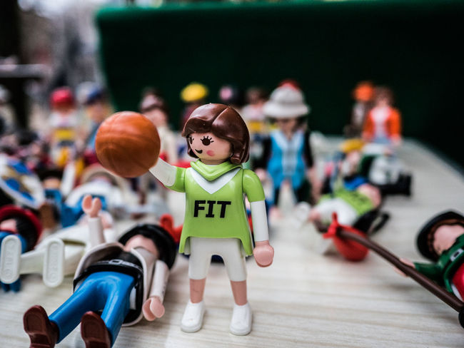 Basketball Big Hands Children Kids New To EyeEm Physical Education Toys Working Out Figures Fit Fitness Healthy Lifestyle Lifestyles Playmobil Playmobile Playmobilfigures Training Women Power