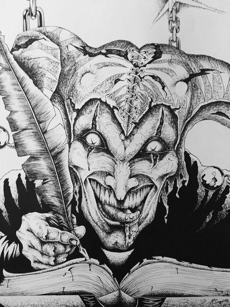 Joker Painting ArtWork Art, Drawing, Creativity