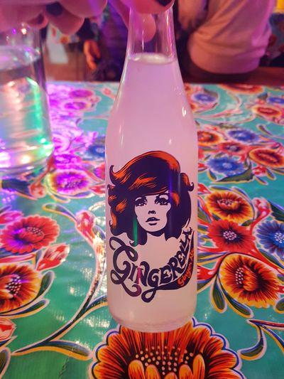 bottle of Gingerella ginger ale New Zealand Brand Product Product Photography Brand Photography New Zealand Ginger Ginger Ale Soda Gingerella Red Soft Drink