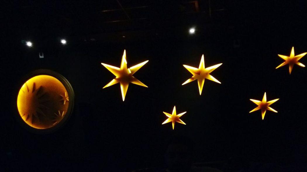 Starshape Stars At Night