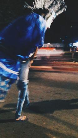 City Night Kid Cultures Ondel-ondel Jakarta Poverty Motion Performance Speed Long Exposure