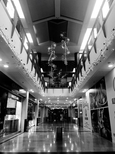 Shopping Centre No People Cardiff Shops Indoors  Architecture Ceiling Illuminated Built Structure Flooring Shopping Mall Absence Luxury Decoration The Way Forward Modern