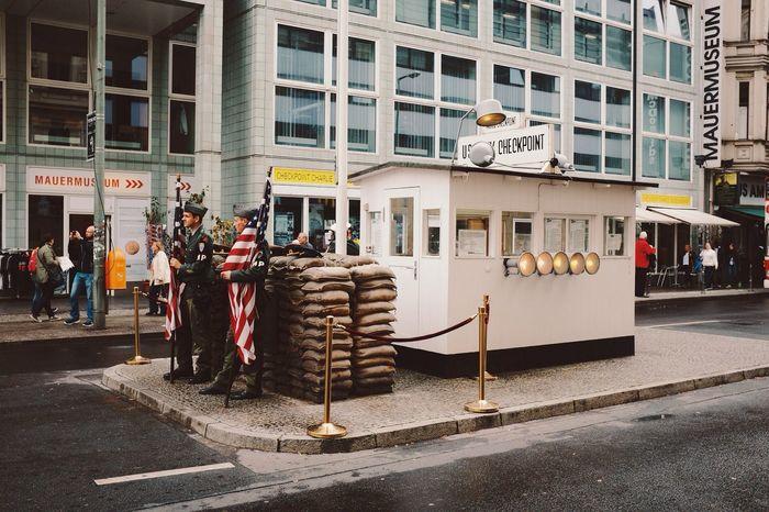 Checkpoint Charlie | Vscocam VSCO Checkpointcharlie Streetphotography Berlin Wall