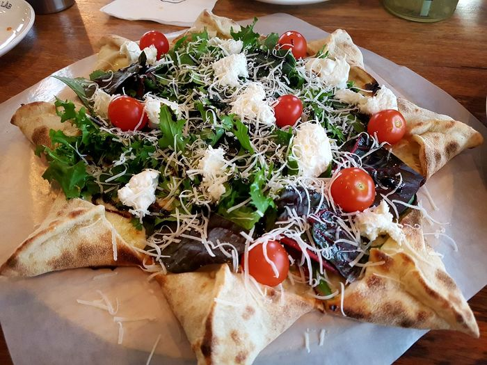 Exactly my style! Starlike Starlike Pizza EyeEm Selects Food Table Freshness High Angle View Indoors  Close-up