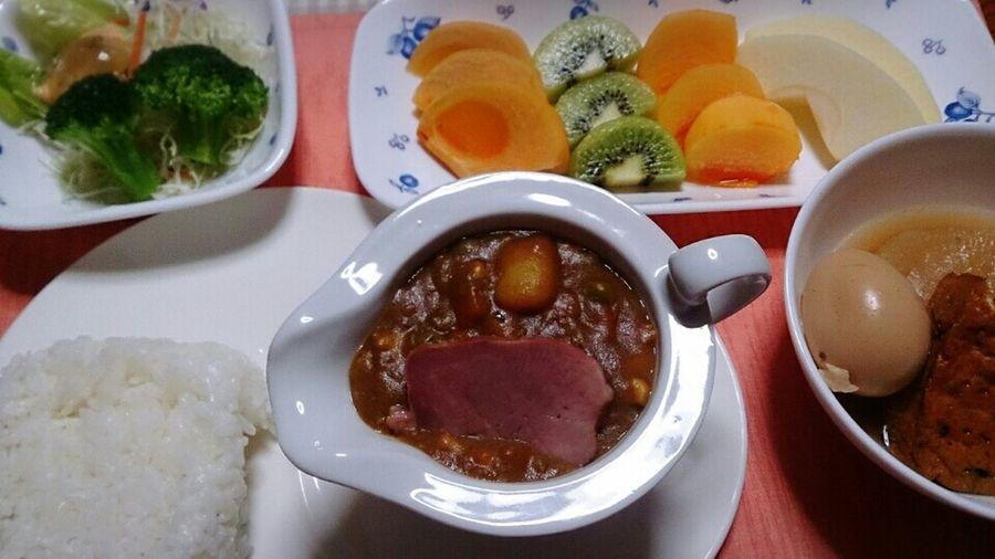 お疲れ様でした☆ Yummy Japanese Food Food Porn Healthy Food Curry Dinner