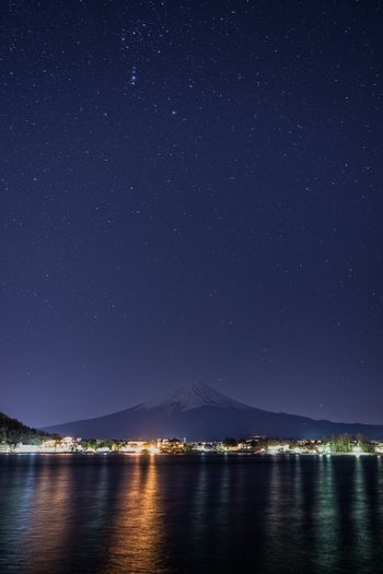 Japan Photography Japan Mount FuJi Night Star - Space Water Astronomy Sky Space Scenics - Nature Galaxy Beauty In Nature Star Star Field Nature Sea Dark