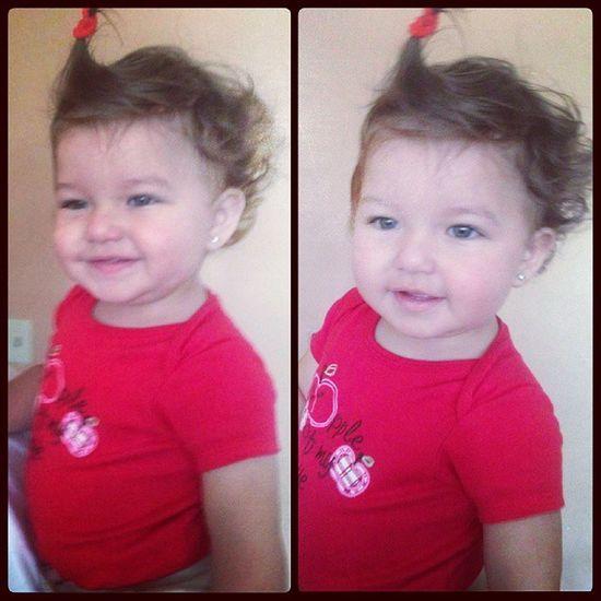 My little bundle of joy is almost turning 1!! Love you so much mi blankita hermosa!!! :) <3 Babyb  Internallove Babyniece Preciosa