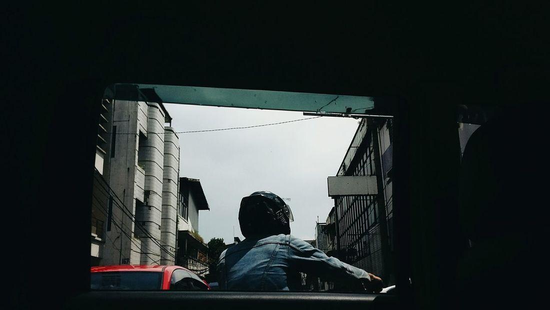 Indonesian Street (Mobile) Photographie Bandungcity Goodtime Persimpangan Macet Sunday