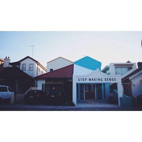 the new favourite house in bondi Stopmakingsense