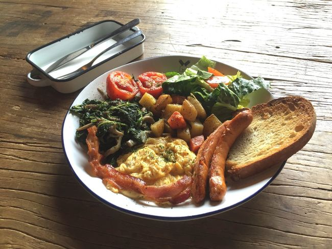 Take good care of your breakfast Big Breakfast Breakfast Mealtime English Breakfast