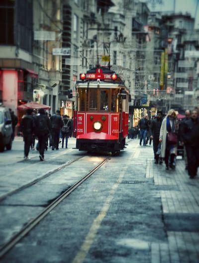 Taksim Istiklal Tramway Beyoğlu Istanbul City Istanbul Turkey Istanbullovers Türkiye İstanbul Tünel 😊