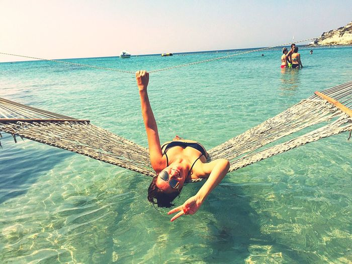 That's Me Enjoying Life Relaxing Myself Luxury Life Is A Beach Turquoise Water Vacation Chilling