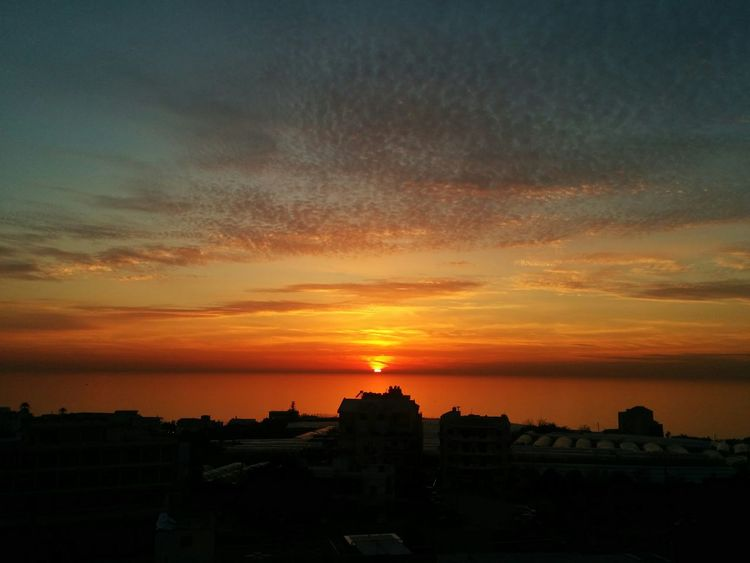 The Sunset Facing My Home East Mediterranean Coast