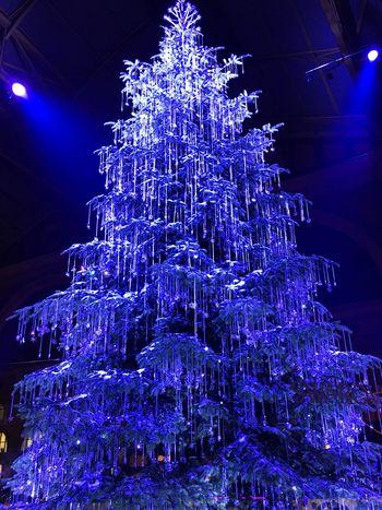 Weihnachtsbaum Svarovski I ❤️ Zürich