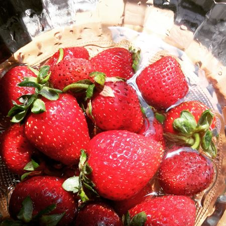Fraises Goodfood Fruits ♡ Fruits Healthy Food Red Fruits Fruits Lover Visual Feast
