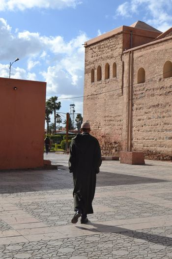 Architecture Full Length Hijab Maroc ❤️ Marrakesh Men One Man Only Only Men Outdoors People Standing Traditional Clothing Travel Destinations