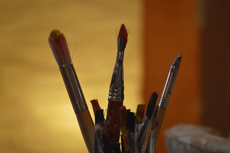 Paint brushes Creativity Creative Light and Shadow Arts Culture And Entertainment Art Light And Shadow Light Brush Brushes Still Life Indoors  Close-up Paintbrush Art And Craft Equipment Art Studio Brush Fine Art Painting Modern Art Nib The Still Life Photographer - 2018 EyeEm Awards Creative Space Moments Of Happiness My Best Photo